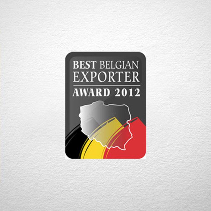 Best Belgian Exporter Award 2012